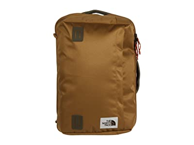 The North Face Travel Duffel Pack (British Khaki/New Taupe Green) Backpack Bags