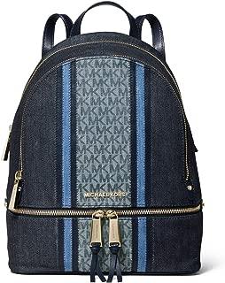 michael kors backpack denim