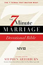 The 7-Minute Marriage: Devotional Bible (The 7 Things That Matter Most)