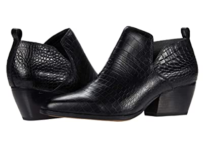 Franco Sarto Dingo (Black Croco) Women