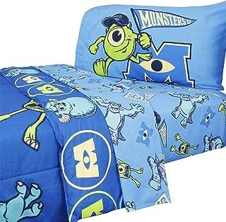 Disney Monsters University Twin Bedding Set Comforter Sheets