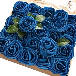 blue cake decorations