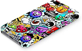 Cover Affair Funky/Cool/Funny Cartoon Printed Designer Slim Light Weight Back Cover Case Compatible with Apple iPhone 5 / Apple iPhone 5S / Apple iPhone SE