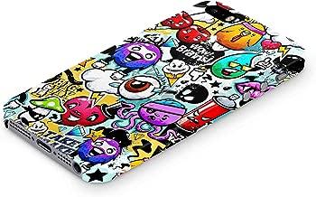 Cover Affair Funky/Cool/Funny Cartoon Printed Designer Slim Light Weight Back Cover Case Compatible with Apple iPhone 5 / Apple iPhone 5S / Apple iPhone SE