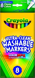 8 ct. Ultra-Clean Washable Classic, Fine Line, Color Max Markers