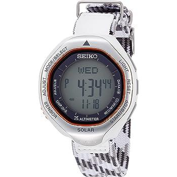 [セイコーウォッチ] 腕時計 プロスペックス ウィンターデザイン限定モデル 登山データ記録機能 ソーラー SBEB039 グレー