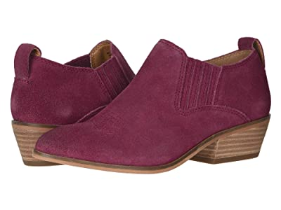 FRYE AND CO. Rubie Western Slip-On (Raspberry Suede) Women