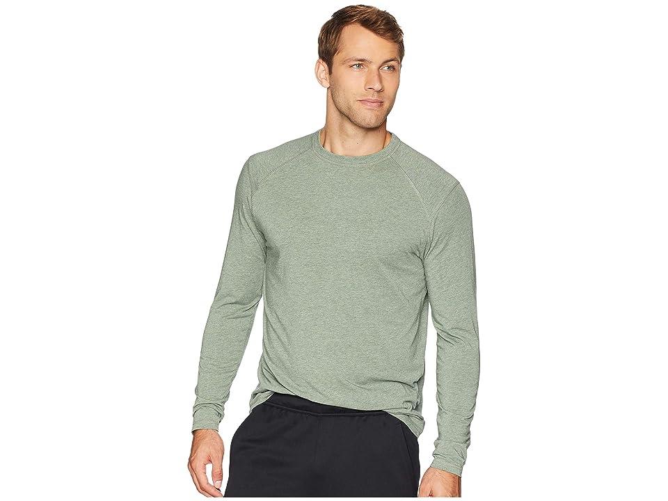 tasc Performance Carrollton Long Sleeve Shirt (Kelp Heather) Men