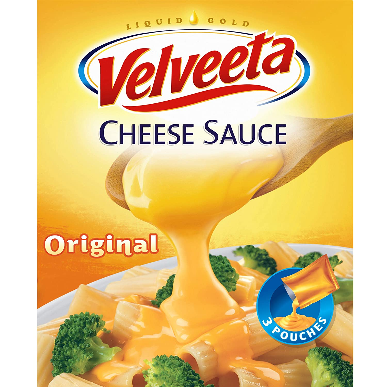 Velveeta Original Cheese Sauce (4 oz Pouches, 3 Count)