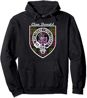 Donald surname last name Scottish Clan tartan badge crest