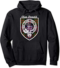 Donald surname last name Scottish Clan tartan badge crest