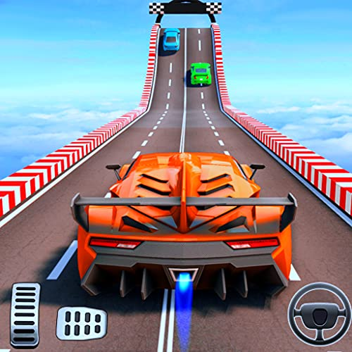 Unmögliche Mega Ramp Extreme Auto Stunts: Master Car Racing Game 2019