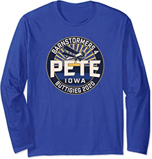 Barnstormers4Pete Buttigieg (Design #8 / Iowa) Long Sleeve T-Shirt