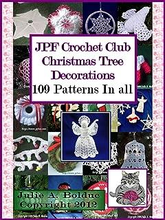 JPF Crochet Club Christmas Tree Decorations