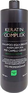 Shampoo Antiforfora Equilibrante Keratin Therapy alla cheratina per uso professionale con Zinco Piritione - 100% made in i...