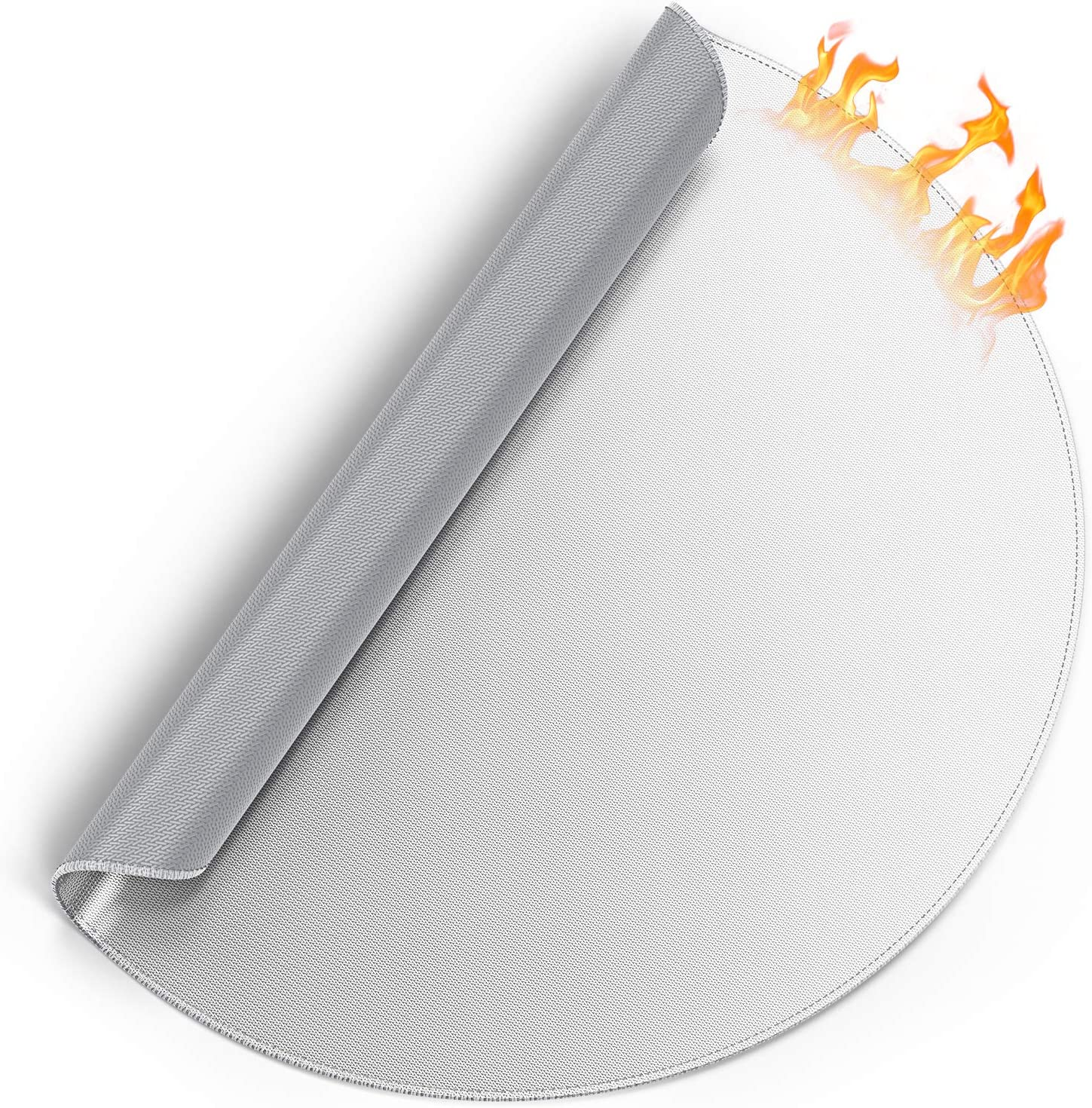 ThinkTex Fire Pit Mat 36'' Acce Pad Max 82% OFF Protector Deck Online limited product