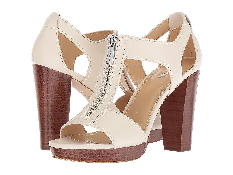 MICHAEL Michael Kors Berkley Sandal (Ecru Vachetta) Women