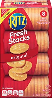 RITZ Fresh Stacks Original Crackers, 8 Count, 11.8 oz