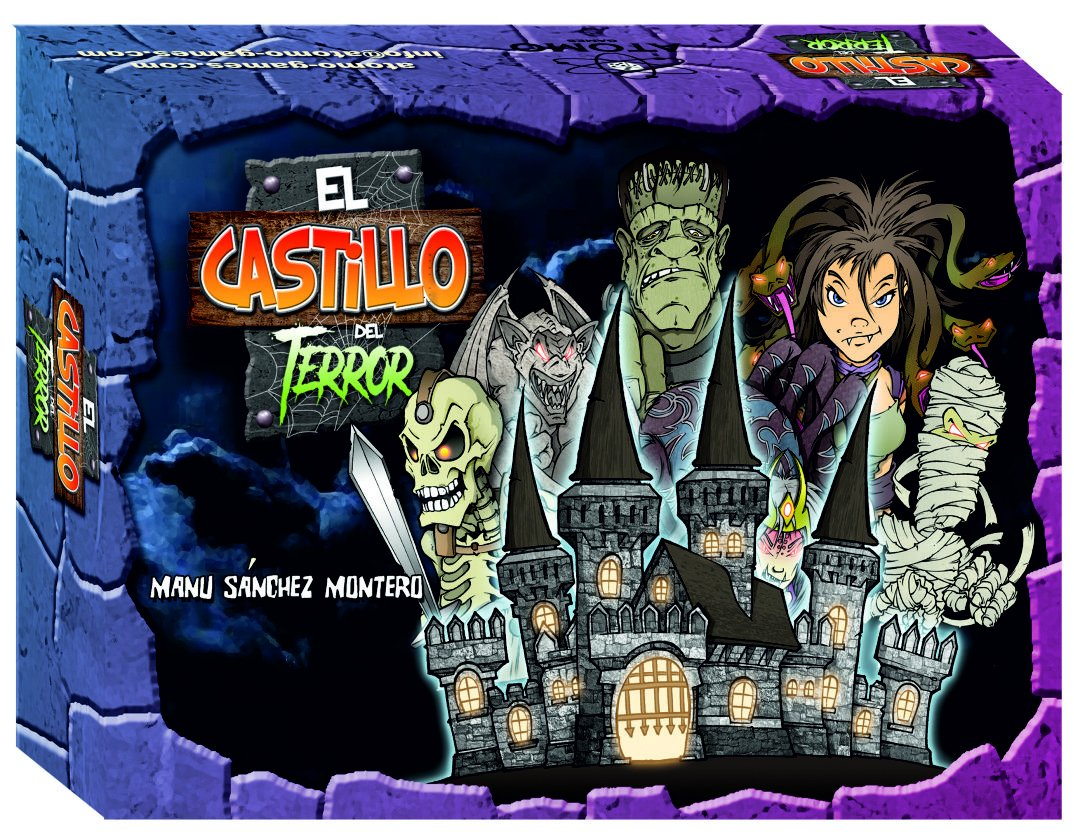 El Castillo del Terror El Juego de Mesa (Átomo Games BGCASTILLO): Amazon.es: Juguetes y juegos