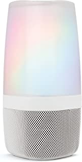 iHome Zenergy Aromatherapy Essential Oil Diffuser Bluetooth Speaker with Sound Therapy, Light Therapy, Anti-Anxiety and Stress Relief, Color Changing Relaxing Sounds and Oils