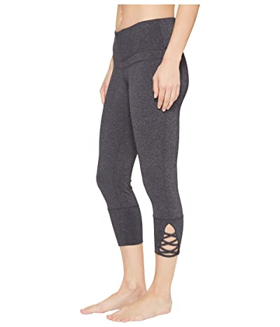 Prana Deco Crop (Charcoal Heather) Women