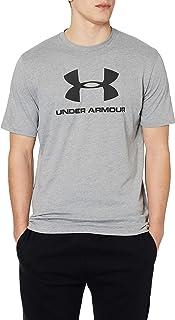 قميص باكمام قصيرة بشعار ذات نمط رياضي للرجال من اندر ارمور