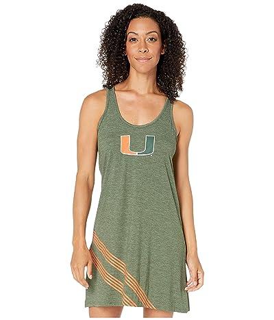 Champion College Miami Hurricanes Tank Dress (Dark Green) Women