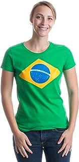 Best Brazil National Flag Ladies