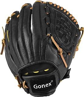 Gonex Baseball Softball Glove for Youth Boys Girls, Baseball Mitt 11.5 Inch Infield Right Hand Throw Glove with Carrying Bag