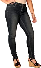 Zana Di Womens Junior Plus Skinny Fashion Jeans_3
