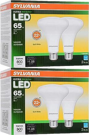 Sylvania LED BR30 Reflector Lamp, 9W (65W Equivalent), Medium Base (E26