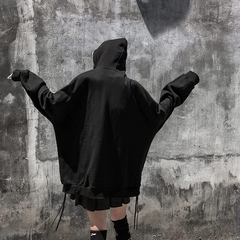 Women Face Portrait Graphic Print Sweatshirt Y2K Zip Up Kangaroo Pocket Long Sleeve Hoodie 90s E-Girl VintageTracksuit