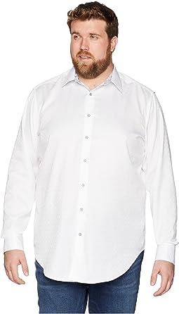 Robert Graham Big & Tall Diamante Long Sleeve Woven Shirt