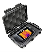CASEMATIX Waterproof Thermal Imager Case Compatible with Flir C2 C3, Seek Reveal Shot pro, Perfectprime Infrared Camera with Rugged Exterior