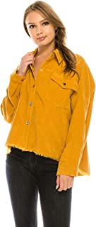 Over Kleshas Women Corduroy Jacket