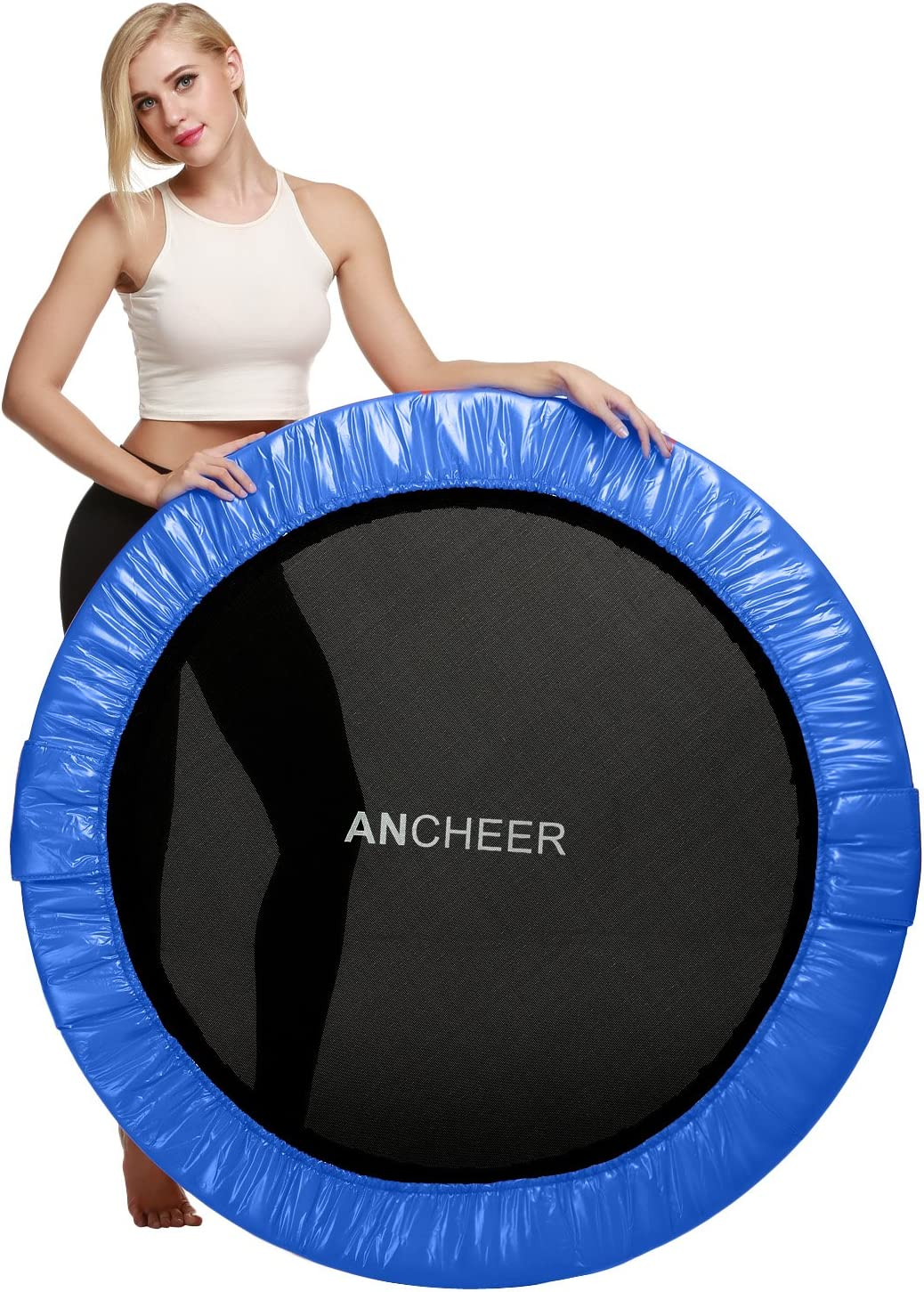 """ANCHEER 50"""" Store Trampoline with Adjustable Handle B Handrail T Sale special price"""