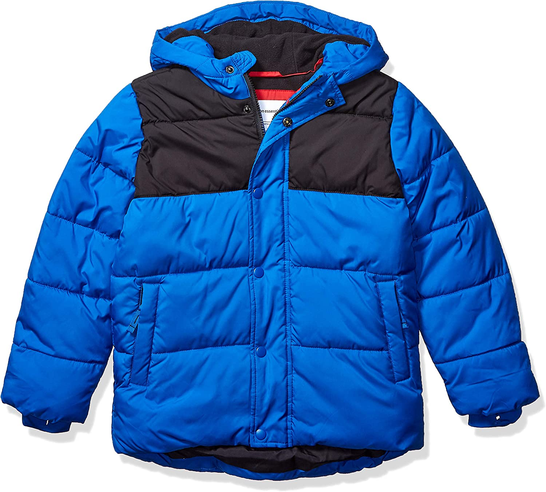 Amazon Essentials Boys' Heavy-Weight Finally resale start Ranking TOP7 Coat Puffer Jacket Hooded