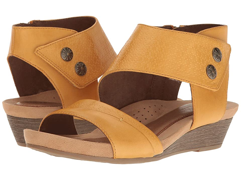 Rockport Cobb Hill Collection Cobb Hill Hollywood Two-Piece Cuff (Yellow Leather) Women