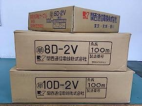 関西通信電線製 5D-2V 灰色 1m 50Ω同軸ケーブル 781-5D2Vシリーズ