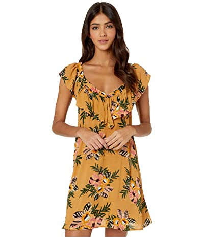 Rip Curl Sunchasers Cover-Up (Mustard) Women