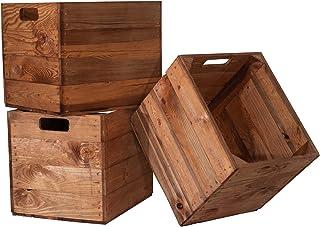 Kistenkolli Altes Land 3-częściowy zestaw drewnianych skrz