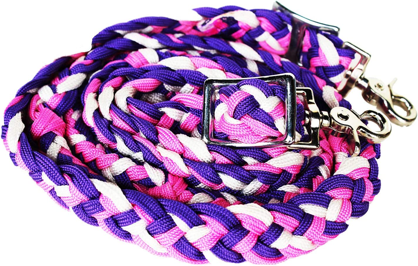 CHALLENGER Horse Roping Knotted Western Braid Reins Barrel Nylon Max 48% sold out OFF
