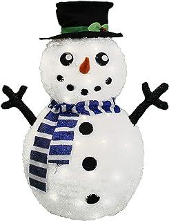 Eco‑Friendly Snowman Decorations Christmas Decoration Reusable for Christmas Outdoor Natruss DIY Snowman Decor