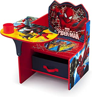 Delta Children Chair Desk with Storage Bin - Ideal for Arts & Crafts, Snack Time, Homeschooling, Homework & More, Marvel S...