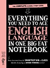 Everything You Need to Ace English Language in One Big Fat Notebook: The Complete School Study Guide