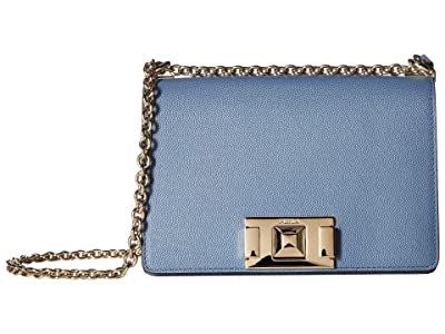 Furla Mimi Mini Crossbody (Color Piombo) Handbags