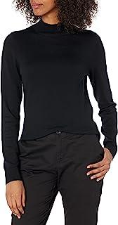 [Amazon Essentials] 軽量 モックタートル 長袖 セーター レディース