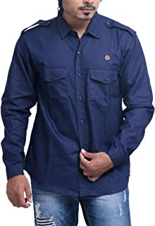 PP Shirts Men Denim Casual Shirt