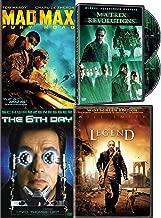 Clone Last Man on Earth DVD Sci-Fi Movie Pack Matrix Revolutions / I Am Legend / The 6th Day & Mad Max Fury Road 4 Movie Set