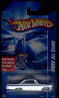 Hot Wheels 2008 All Stars White '62 Chevy w/ PR5s on Beckett Price Guide Card #76 1:64 Scale